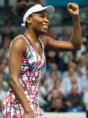 Venus Williams won her 44th career title on Sunday.
