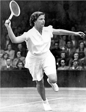 Margaret Osborne duPont was inducted into the International Tennis Hall of Fame in 1967.