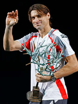 David Ferrer clinched the first Masters title of his career.