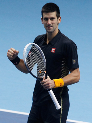 Novak Djokovic is looking to win his second ATP finals.