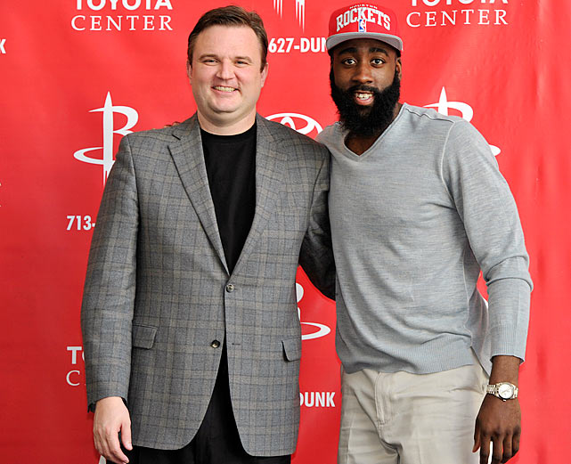 Rockets general manager Daryl Morey is the nerdiest GM in the NBA. He also has possibly more on the line this season than anyone else, writes Chris Ballard.