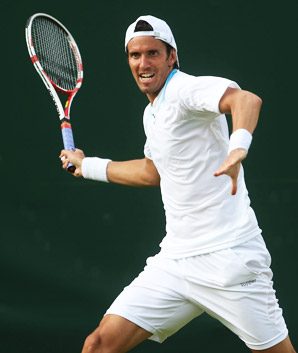 Juan Ignacio Chela of Argentina peaked at No. 15 in the ATP rankings in 2004.
