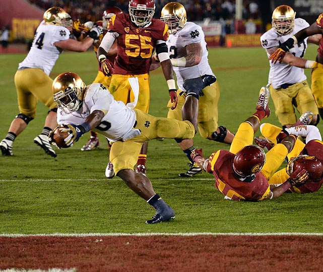 Notre Dame knew what it had to do to reach the BCS title game -- and it did it. The Fighting Irish had struggled against their Trojan rivals in the new millennium, but on Nov. 24 Notre Dame defeated USC for just the second time in 11 years.