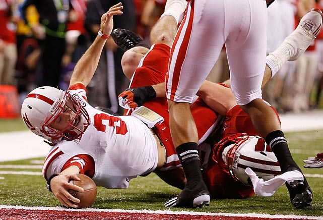 Nebraska quarterback Taylor Martinez ran for 140 yards and two touchdowns, but it wasn't nearly enough against the Badgers, who put up 70 points in the Big Ten Championship game.