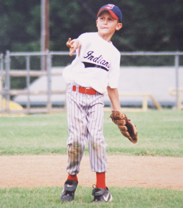 Manziel, age 9, shows he's more than just a one-sport athlete.