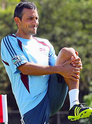 Pablo Mastroeni has been with the Rapids since 2002.