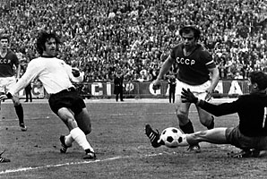Gerd Mueller was the World Cup's top scorer in 1970.