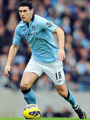 Gareth Barry came to Manchester City from Aston Villa in 2009.