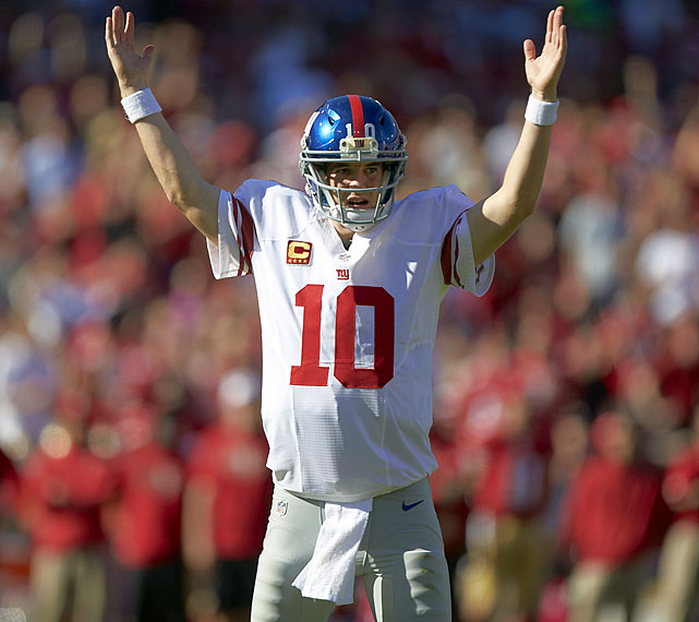 Eli Manning is the first of SI's Inspiring Performers of 2012. Call him a hangdog hero, a sad-sack superman or a kid brother to a legend -- you still probably won't bet against Eli Manning when it is all on the line in February. S.L. Price explains how the MVP of two Super Bowls, a scion of football's first family and the ultimate game-changer, Manning redefines how we interpret a superstar.