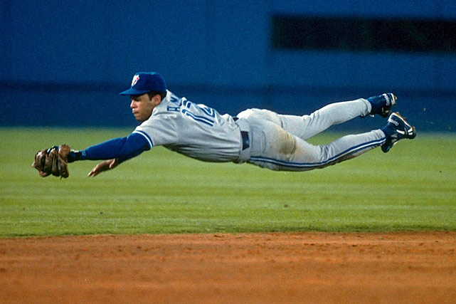 On the short list for the game's greatest second basemen, the 12-time All-Star led the Blue Jays to consecutive World Series titles (1992, '93). Alomar finished his career with 2,724 hits.