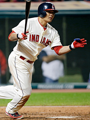 Shin-Soo Choo hit 16 homers and tallied 67 RBIs last season for the Indians.