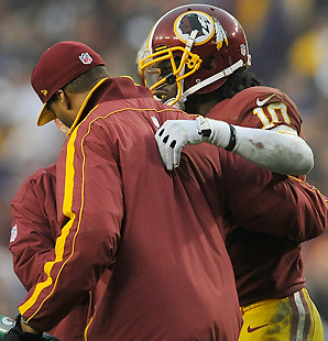 Robert Griffin III's father recently expressed optimism that his son would play in Week 15.