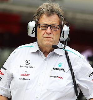 Norbert Haug has been with Mercedes since October 1, 1990.
