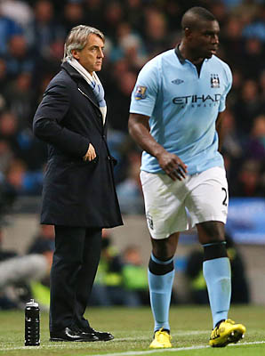 Micah Richards has been with Manchester City since 2001.