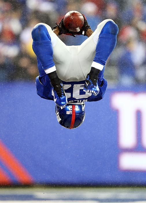 Like the Giants' rookie running back, we're flipping out. See you next week.