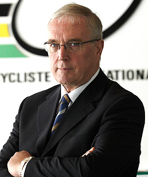 Pat McQuaid said Greg LeMond's statement saying he should take over the UCI is simply a publicity stunt.