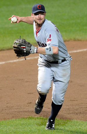 Jack Hannahan spent the last two seasons with the Indians, hitting .247 with 32 doubles, 12 home runs and 69 RBIs.