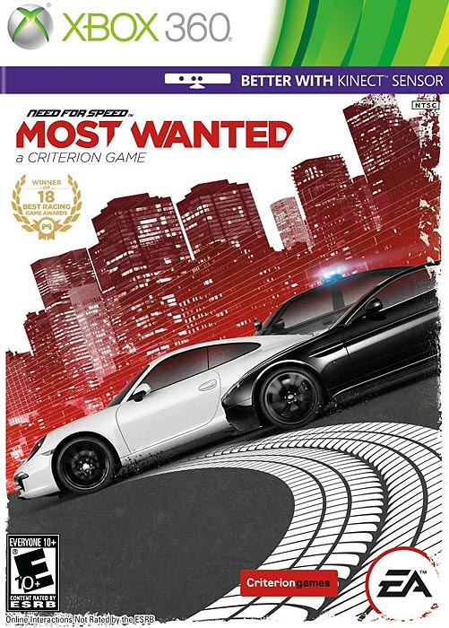 Most Wanted's intense arcade-style racing delivers with a fantastic sandbox environment and a healthy dose of evading the po-po at break-neck speeds.