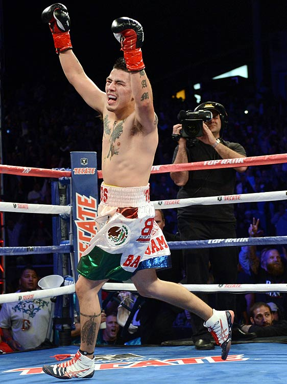 Boxer Brandon Rios won both of his fights in 2012, defeating Richard Abril and Mike Alvarado and improving his record to 31-0-1.