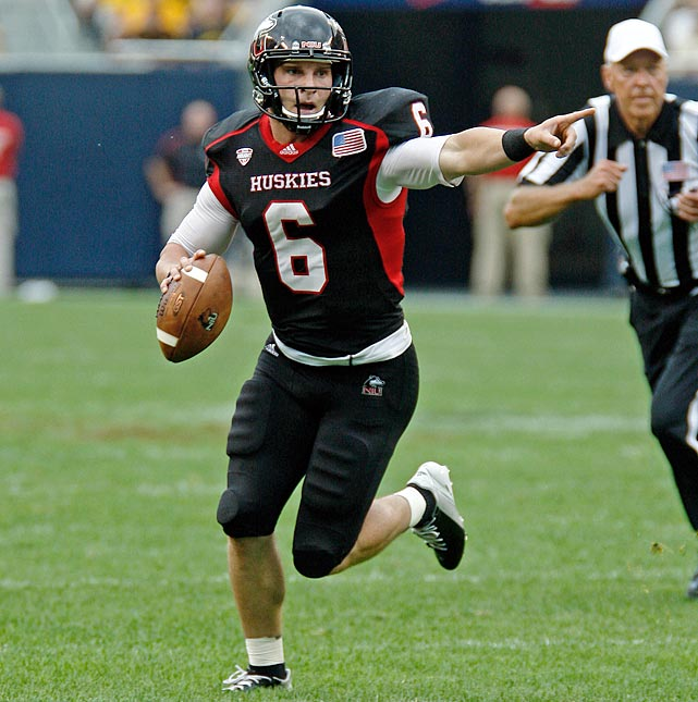 How good was Northern Illinois junior quarterback Jordan Lynch? His 4,361 total yards was just 239 yards fewer than Johnny Manziel's total. For that, and for leading the 12-1 Huskies to earning the MAC title, he was named the MAC Player of the Year and an AP All-American.