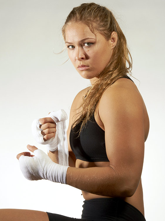 Mixed martial arts fighter Ronda Rousey, a 2008 bronze medalist in judo, joined the UFC and was named the first UFC Women's Bantamweight Champion. Rousey will fight Liz Carmouche at UFC 157 in February 2013.