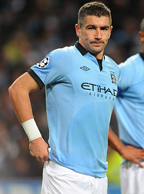 Aleksandar Kolarov allegedly got into an altercation with a fan while playing against Newcastle.