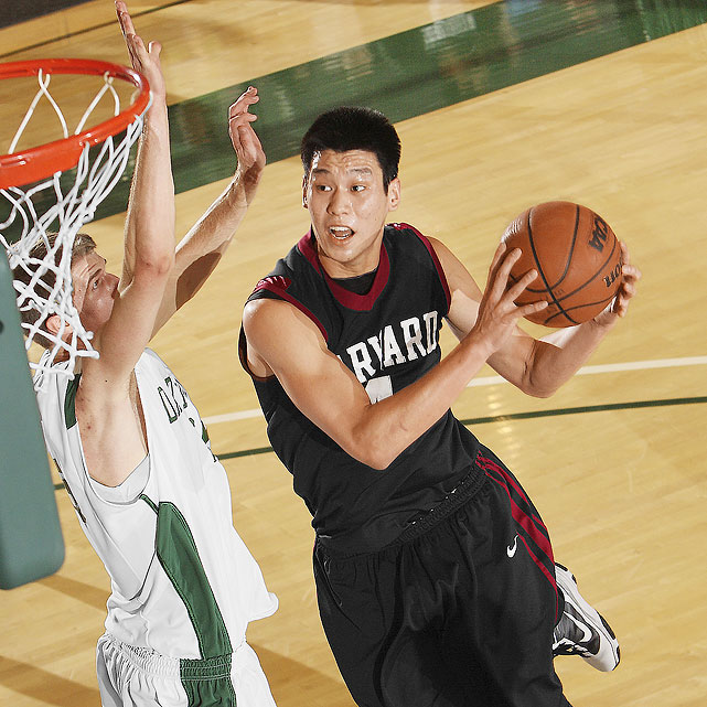 At Harvard, Lin became the first player in Ivy League history to record at least 1,450 points, 450 rebounds, 400 assists and 200 steals.
