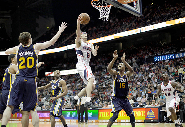 It had been 15 years since NBA fans last saw a four-overtime game, but that drought ended on March 25. Led by Joe Johnson's 37 points, the Hawks outlasted the Jazz 139-133 in a game that lasted three hours and 16 minutes.