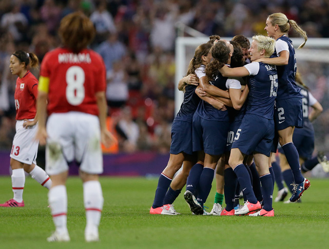 The U.S. women's soccer team avenged their memorable loss to Japan buy defeating the Japanese in the Olympic finals, 2-1, in what was an exciting game that showcased the talents of both sides. Carli Lloyd's two goals gave the Americans the gold.