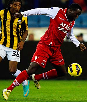 Jozy Altidore ranks fourth in the Dutch league with 11 goals this season.