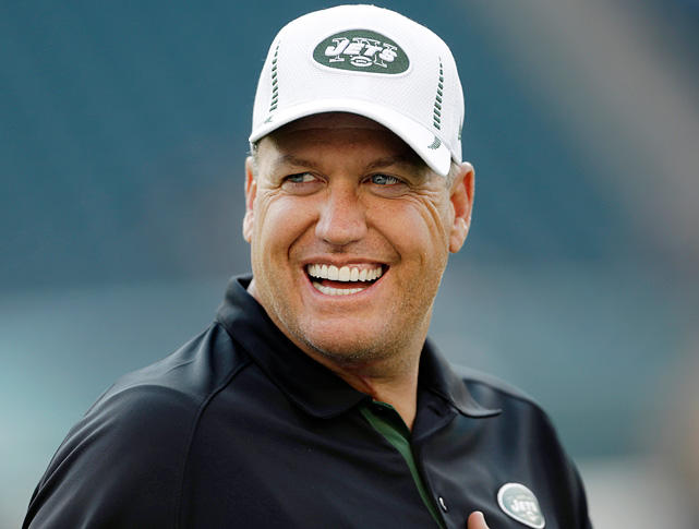 "Rex Ryan, on the heels of a punchless 0-4 preseason, says ""Overall, in my opinion, I think this has a chance to be the best team that I've had since I've been the coach here."""