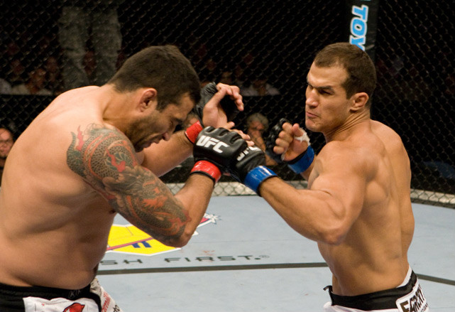Junior Dos Santos made his UFC debut on Oct. 25, 2008, flattening the favored Fabricio Werdum with a vicious uppercut just 80 seconds into the fight to clinch Knockout of the Night honors.