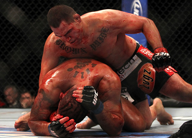 After losing the belt to Junior dos Santos in his first defense, Velasquez got back in the win column in dramatic fashion with a first round TKO of Antonio Silva at UFC 146 on May 26, 2012.