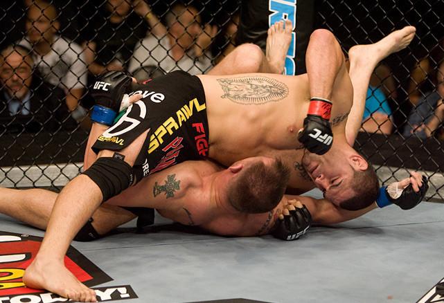 The Salinas, Calif., native scored a second straight opening-round TKO in his sophomore UFC outing, against Jake O'Brien.