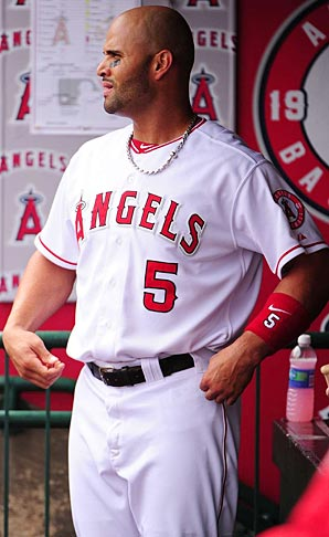If everyone in the MMA could hit like Angels slugger Albert Pujols they'd be on to something.