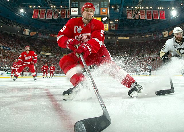 The legendary Steve Yzerman's successor brought a quiet efficiency to the role. A fundamentally brilliant workhorse at his position (he won the Norris Trophy seven times) and blessed with scoring touch as well as the ability to make his defense partners better, the highly-respected Swede became the first European-born captain to lead his team to the Stanley Cup. That 2008 championship was the fourth of his career and his Red Wings nearly won a fifth in 2009. With Lidstrom producing 16 points in 21 postseason games, they fell to Sidney Crosby's Penguins in the Cup final, four games to three. <bold>SI Vault: </bold><bold>Neat Nick</bold><bold> by Michael Farber</bold>