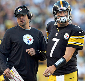 The Steelers' offense is ranked 19th this year, a year after finishing 12th under Bruce Arians.