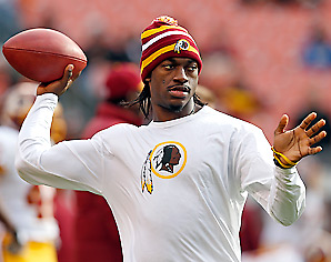 Robert Griffin is second in the league with a 104.2 rating.