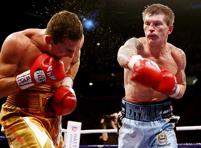It may not have been the most glamorous return, but Hatton still came back to the ring almost a full three years after Manny Pacquiao crushed him in 2009. One of the most popular boxers in the U.K.'s history, Hatton announced a comeback on September 14, 2012 against an unnamed opponent. Tickets sold out in two days. Hatton took on Vyacheslav Senchenko and started off strong, but faded as the fight went on. Hatton admitted that he needed one more fight to see if he had it left, and said afterward that he knew it was no more.