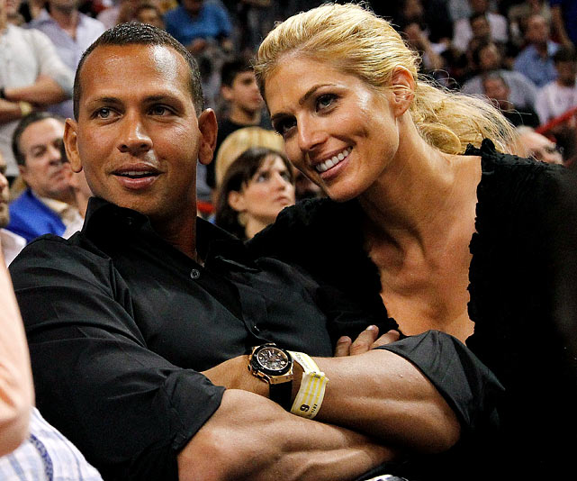 The couple started dating in late 2011, but remain together today, despite the Yankees third baseman being accused of trying to pick up a fan during a playoff game agains the Tigers.
