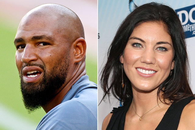 Nobody knew the U.S. women's soccer goaltender and former Seahawks tight end were dating, but they tied the knot in mid-November amid controversy.