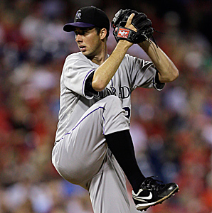 Jeff Francis was was 6-7 with a 5.58 ERA in 24 big league starts for the Rockies in 2012.