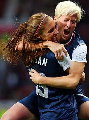 Megan Rapinoe, Alex Morgan and the U.S. women won gold for the third straight Olympics.