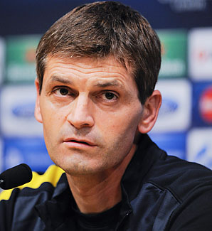 Tito Vilanova has led Barcelona to first place in La Liga this season.