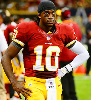 """I'm thankful for a lot of things in life and One of those things is your support,"" Robert Griffin III tweeted last week. ""Thank you."""