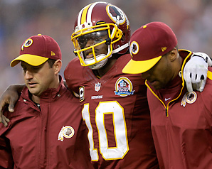 The Redskins beat the Browns to stay in the playoff race last week with Kirk Cousins filling in for Robert Griffin III.