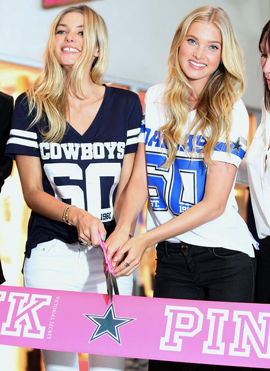 The Dallas Cowboys opened a Victoria's Secret Pink store inside Cowboys Stadium. <italics>Oct. 15 issue</italics>