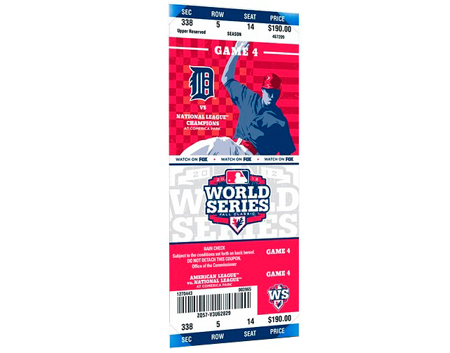 A fan in Detroit -- who confirmed he was serious -- placed an ad on Craigslist offering to trade his house for World Series tickets. <italics>Nov. 5 issue</italics>