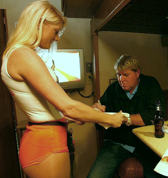 Three years after the restaurant chain dropped him as a sponsor, John Daly returned to Hooters last week to serve as Head Rules Official for a pre-Masters chicken-wing-eating contest in Augusta. <italics>April 16 issue</italics>