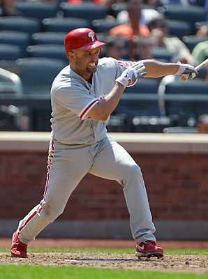 Placido Polanco hit .257 in 90 games for the Phillies in 2012.